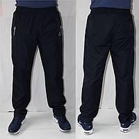 Мужские спортивные штаны плащевка SOCCER, черные