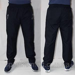 Чоловічі спортивні штани плащівка SOCCER чорні