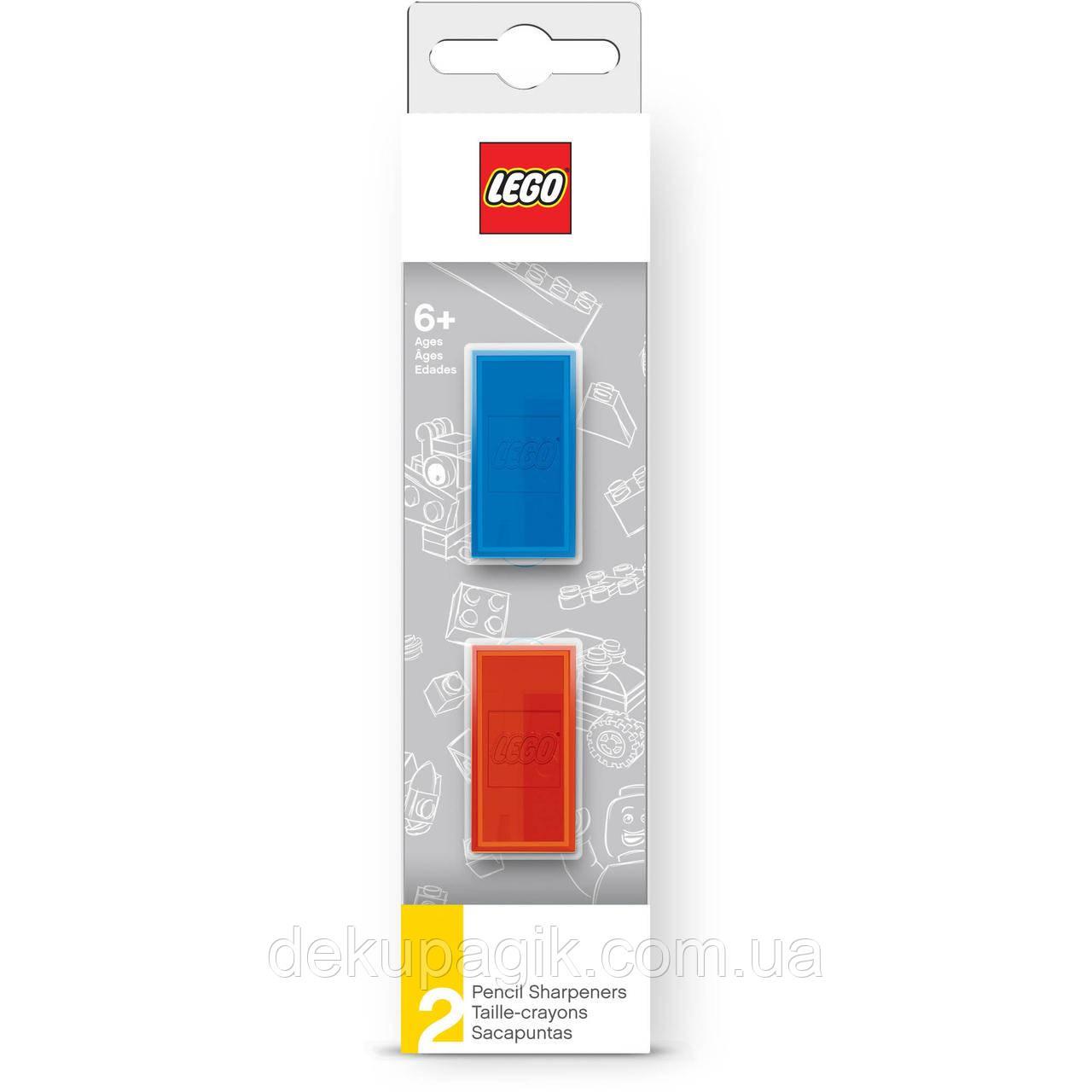 Lego Набор точилок для карандашей из 2-х штук 5005112