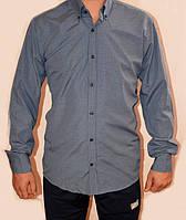 Мужская однотонная рубашка 0611/96