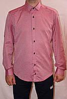 Мужская однотонная рубашка 0611/97