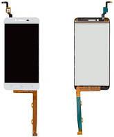 Дисплей (экран) + сенсор (тач скрин) Lenovo Vibe K5 Plus Lemon 3 white (оригинал)