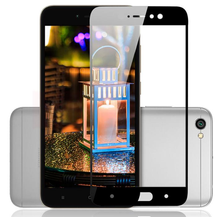 Защитное стекло Optima 2.5D 9H на весь экран для Xiaomi Redmi Note 5A черный