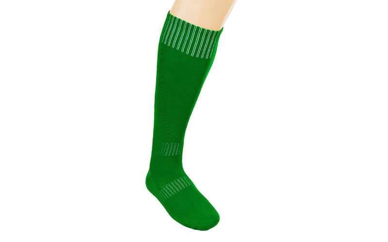Гетры футбольные взрослые зеленые CO-5087-G