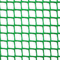 Клевер Сетка пластиковая 'забор' яч. 10х10 мм, рул. 1х20 м (зеленая)✵ Бесплатная доставка