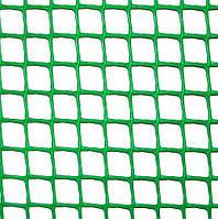 Клевер Сетка пластиковая 'забор' яч. 85х95 мм, рул. 1х20 м (зеленая)✵ Бесплатная доставка