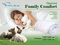 Одеяло FAMILY COMFORT с наполнением из овечьей шерсти с флексфайбером