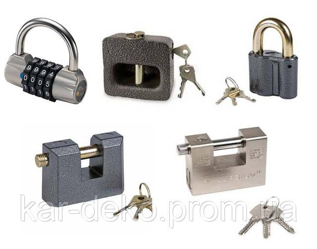 Фото  разновидностей навесных замков kar-deko.com