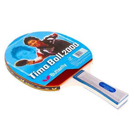 Ракетка для настолького тениса  Batterfly TimoBall 2000, фото 2