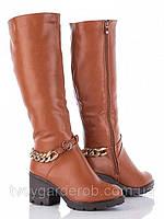 Модные высокие женские сапожки (р36-41)