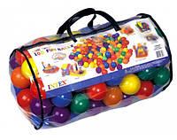 Шарики для сухого бассейна Intex Fun Ballz 80 мм 100 шт (49600)