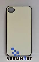 Чехол для 2D сублимации Iphone 4/4S черный, фото 2