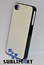 Чехол для 2D сублимации Iphone 4/4S черный