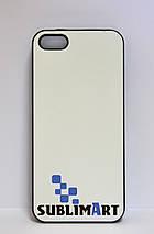 Чехол для 2D сублимации Iphone 5/5S Черный, фото 2