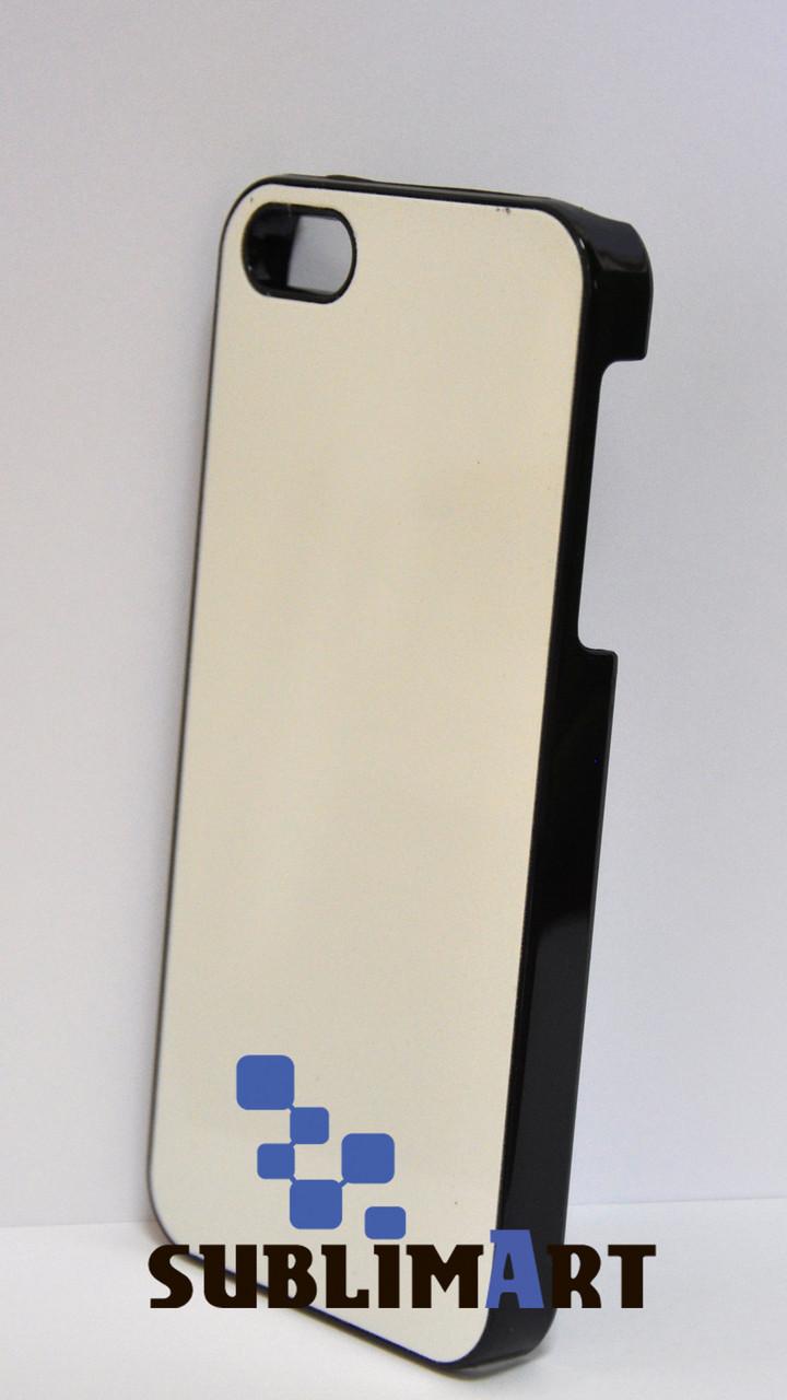 Чехол для 2D сублимации Iphone 5/5S Черный