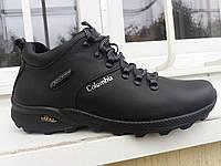 Кожаная мужская обувь на зиму