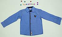 Стильная рубашка  для мальчика рост 92-98 см, фото 1