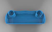 """Бассейн """"Президентский"""" 12,7 х 4,50 х 1,60м. Базовый цвет - голубой."""