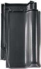 Керамическая черепица BRAAS Рубин 13V (глазурь) Глазурь, Королевский-серый