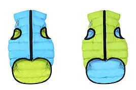 Одежда для собак Airy Vest XS 30, куртка, жилет салатово-голубой