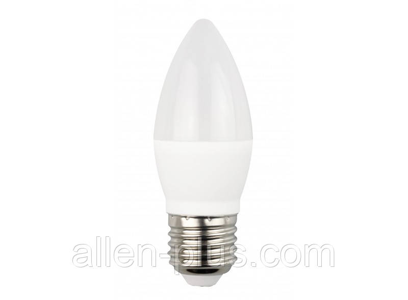 Лампа светодиодная LED LUXEL ECO 043-NE С37 4000K (E27 / 4W)