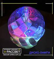 Светодиодная диско-лампа RGB на подставке