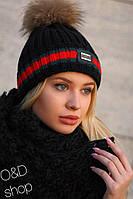 Женская шапка Gucci