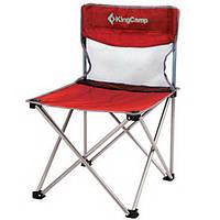 Шезлонг KingCamp Compact Chair in Steel M(KC3832) Red