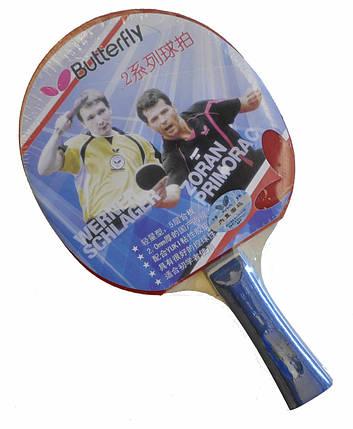 Ракетка для настолького тениса Batterfly 2* , фото 2
