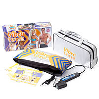 Массажный пояс для коррекции фигуры и похудения Вибра тон (Vibra tone) купить в Украине