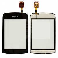 Тач Nokia C2-02/C2-03/C2-06 черный