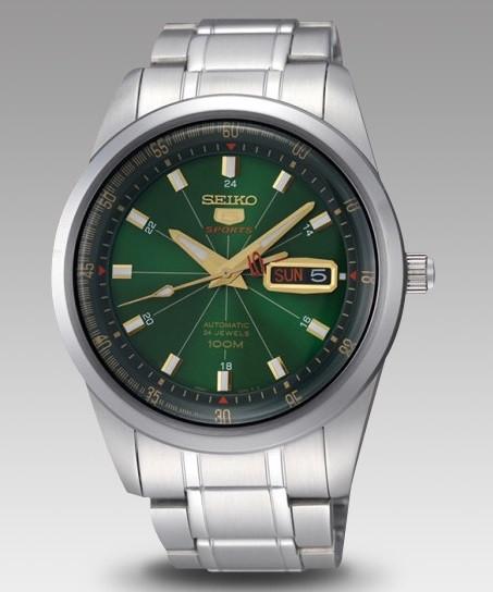 Часы Seiko 5 Sports SRP409K1 Automatic 4R36 B