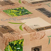 HONGDA Скатерть нетканая Зеленый чай 1.4х20х0.17 м✵ Бесплатная доставка