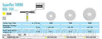 Алмазний диск NTI Superflex TURBO