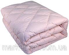 Зимнее теплое одеяло из овечьей шерсти.150х210 Крем., фото 3