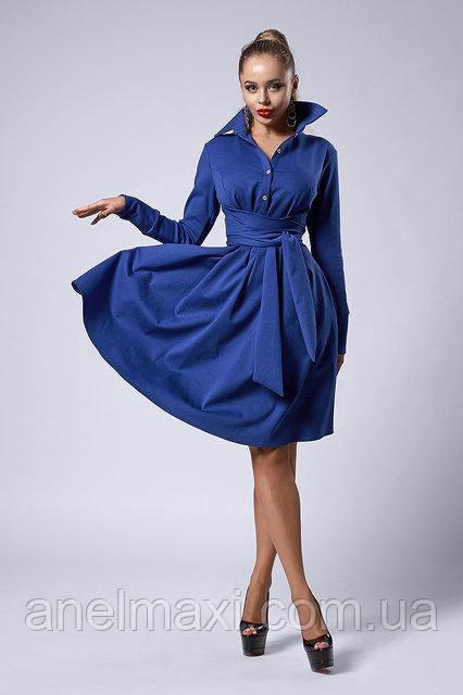 83087943a66e96d Молодежное платье мод 538-4, електрик, размер 44,46,48,50 : в ...