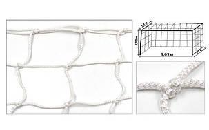 Сетка на ворота футзальные, гандбольные любительская (2шт) (капрон 4,5мм, яч.12см) SO-5289, фото 2