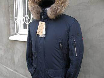 Мужская зимняя куртка аляска на верблюжей шерсти