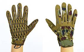 Перчатки тактические с закрытыми пальцами BLACKHAWK BC-4925-HG