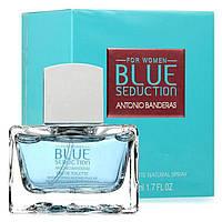 Женская туалетная вода Antonio Banderas Blue Seduction 100 мл ОРИГИНАЛ (Антонио Бандерас Блу Седакшн Вумен)