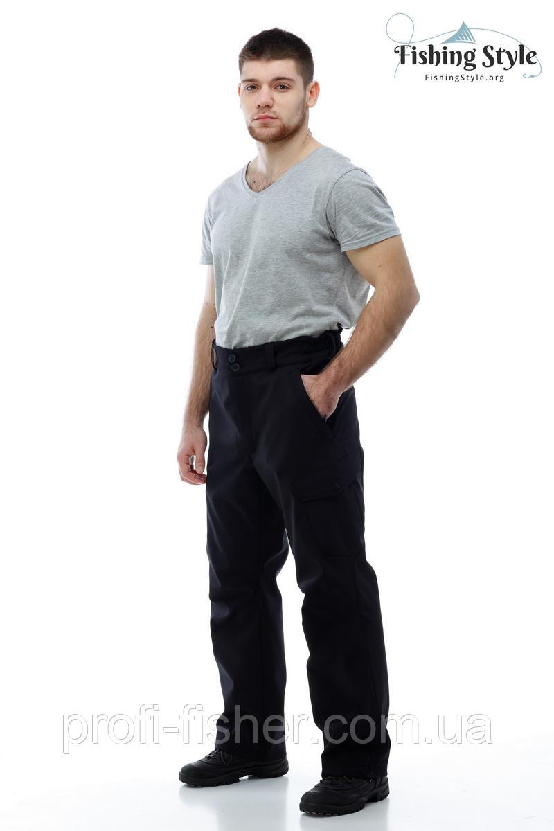 """Брюки мембранные демисезонные Fishing Style Dynamic Offence Pants """"Чёрный"""""""