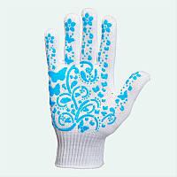 Перчатки с точкой ПВХ арт.711