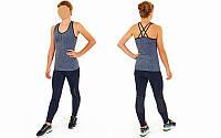 Майка для фитнеса и йоги CO-J1525-3