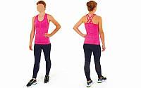Майка для фитнеса и йоги CO-J1525-5