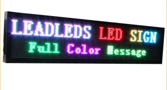 Cветодиодная Бегущая Строка RGB LED Цветная 100 x 20 см - Уличная, фото 2