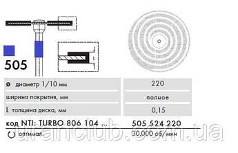 Алмазный диск NTI Superflex TURBO