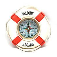 Часы настенные морские Спасательный круг