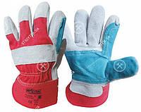 Werk WE2130 Перчатки комбинированные кожа + ткань✵ Бесплатная доставка