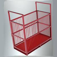 Ваги для зважування свиней платформа 1.2х0.7 м, фото 1