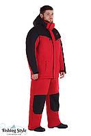 """Зимний рыболовный костюм мембранный Fishing Style Arctic Offence """"Красный"""""""